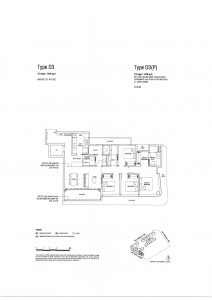 One-North Eden-Floor-Plan-Type-D3